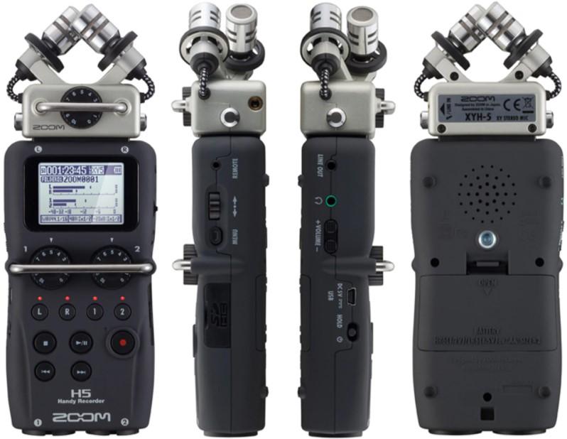 alat perekam audio mic zoom h5